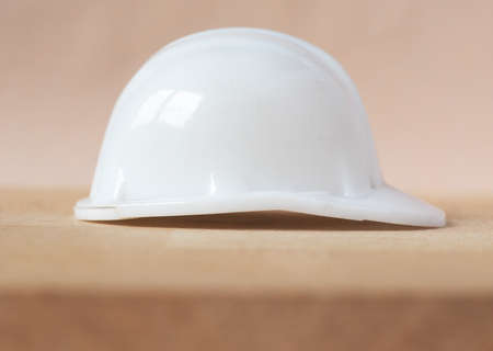 head protection: Safety helmet for head protection in construction site