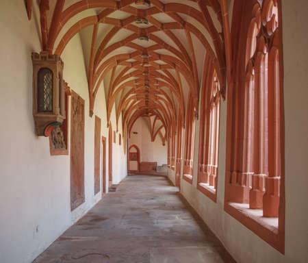 st german: St Stephan church in Mainz in Germany