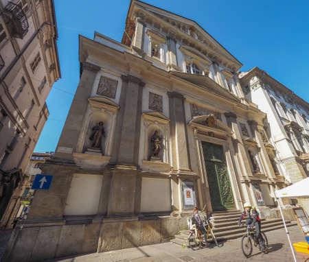 martiri: TURIN, ITALY - CIRCA MAY 2016: Chiesa dei Santi Martiri (meaning Holy Martyrs church) Editorial