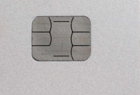 debit card: Electronic chip on a credit card or debit card