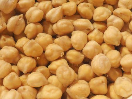 garbanzos: Garbanzos legumbres también conocido como garbanzos, Cicer arietinum, gramo de Bengala, garbanzo, garbanzos, cece o Kabuli Chana de alimentos vegetales vegetariana - bajo el agua