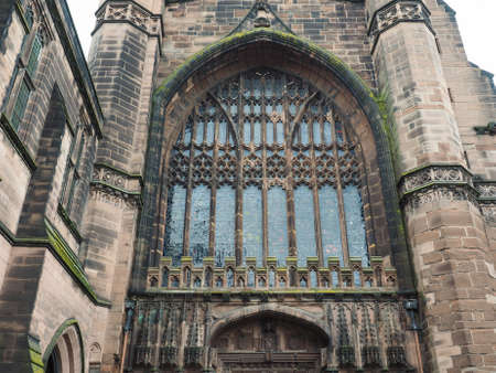 anglican: Chester Anglican Cathedral church in Chester, UK Stock Photo