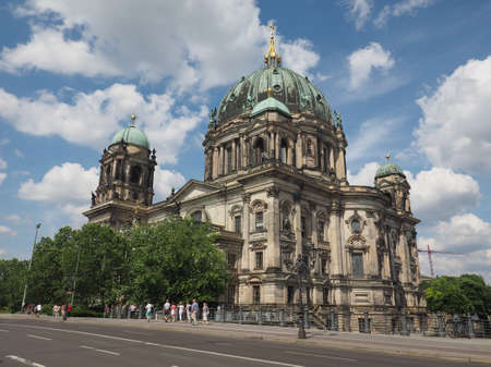 dom: BERLIN, GERMANY - CIRCA JUNE 2016: Berliner Dom meaning Berlin Cathedral church Éditoriale