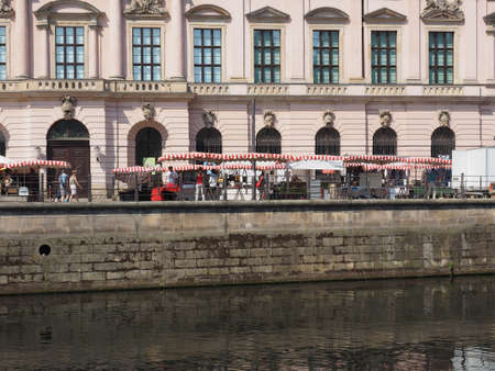 spree: BERLIN, GERMANY - CIRCA JUNE 2016: River Spree Editorial