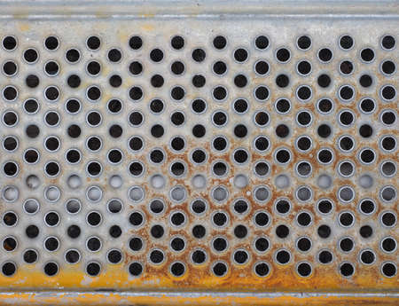 metal mesh: Green metal mesh grid texture useful as a background Stock Photo