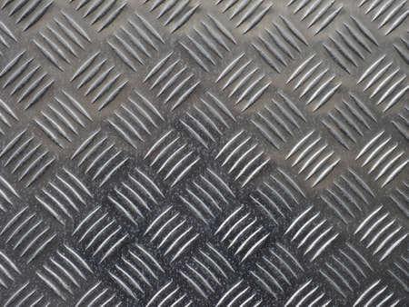 diamond plate: Grey steel diamond plate useful as a background Stock Photo