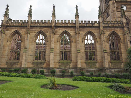 Luke: The St Luke church in Liverpool, UK