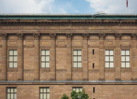 alte: The Alte Nationalgalerie (meaning Old National Gallery) in the Museumsinsel (meaning Museums Island) in Berlin, Germany Editorial