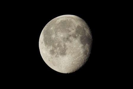 gibbous: Waning gibbous moon, almost full moon