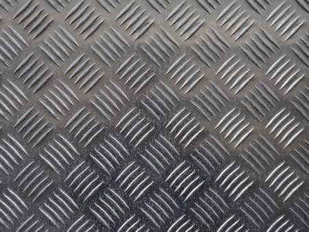 diamond plate background: Grey steel diamond plate useful as a background Stock Photo