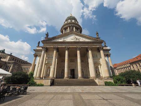 dom: BERLIN, GERMANY - CIRCA JUNE 2016: Franzoesischer Dom aka Franzoesische Friedrichstadtkirche (meaning French Church in Friedrichstadt)