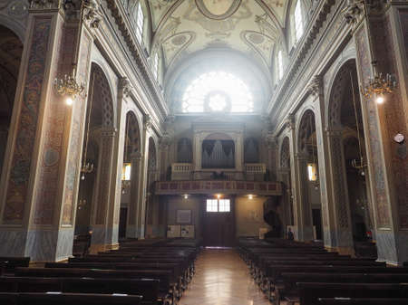 immaculate conception: TURIN, ITALY - CIRCA JUNE 2016: San Donato Immacolata Concezione (meaning Immaculate Conception) church