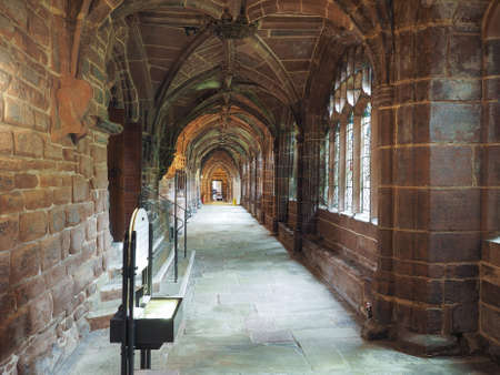 chester: CHESTER, UK - CIRCA JUNE 2016: Chester Anglican Cathedral church