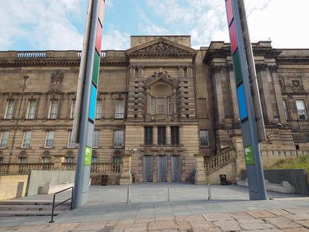 liverpool: LIVERPOOL, UK - CIRCA JUNE 2016: Liverpool World Museum Editorial