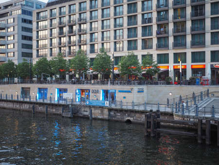ddr: BERLIN, GERMANY - CIRCA JUNE 2016: DDR museum on the bank of Spree river