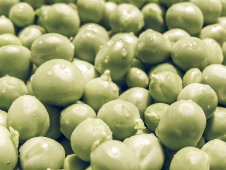 desaturated: Vintage desaturated Green Peas food useful as a background