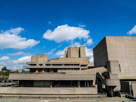 rationalist: High dynamic range HDR The Royal National Theatre in London UK