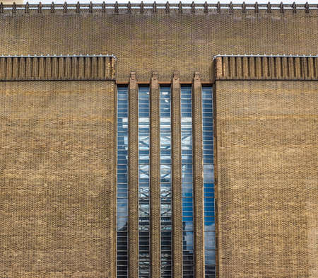 powerstation: High dynamic range HDR Tate Modern art gallery in South Bank powerstation in London, UK