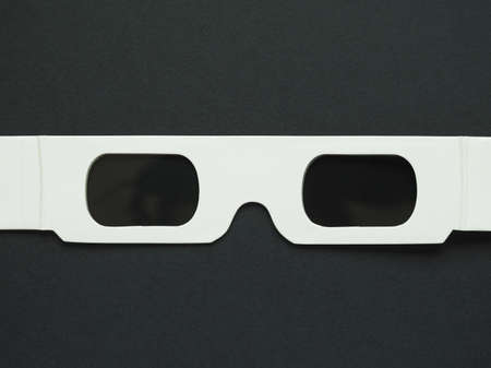 tridimensional: Disposable 3D glasses for tridimensional movie show
