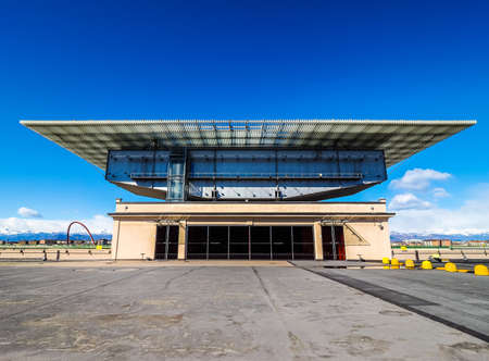 TURIN, ITALY - CIRCA MARCH 2016: Pinacoteca Agnelli art gallery designed by Renzo Piano at Lingotto former Fiat car factory (HDR) Editorial