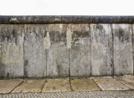 mauer: High dynamic range HDR The Berlin Wall (Berliner Mauer) in Germany Stock Photo