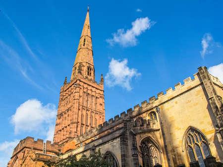 parish: High dynamic range HDR Holy Trinity parish Church, Coventry, England, UK