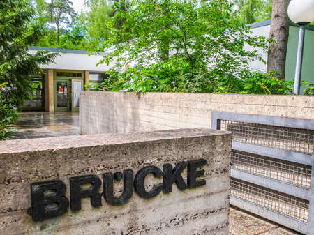 expressionist: BERLIN, GERMANY - MAY 11, 2014: The Bruecke Museum of the Expressionism host the major collection of German expressionist paintings (HDR)