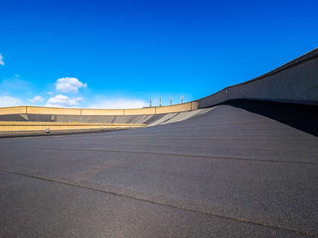 fiat: TURIN, ITALY - CIRCA MARCH 2016: Roof top race track at Lingotto former Fiat car factory (HDR)