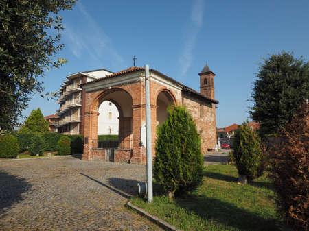 LEINI, ITALIA - CIRCA DE SEPTIEMBRE DE 2016: Capilla San Rocco (que significa capilla de San Roque)