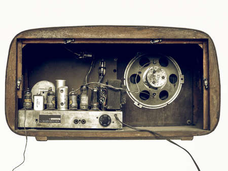 tuner: Vintage looking A picture of Old AM radio tuner