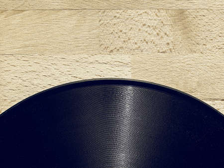 rpm: Vintage looking Detail of vintage 78 rpm music record with copy space