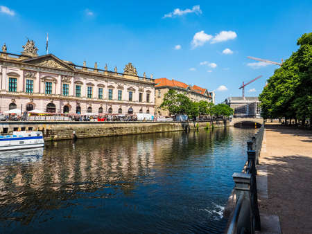 spree: BERLIN, GERMANY - CIRCA JUNE 2016: River Spree (HDR)