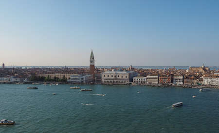 st mark: Piazza San Marco (meaning St Mark square) in Venice, Italy