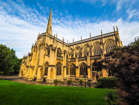 parish: HDR St Mary Redcliffe Anglican parish church in Bristol, UK