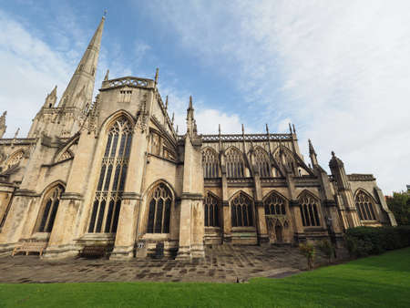 St Mary Redcliffe Anglican parish church in Bristol, UK