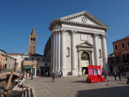 barnabas: VENICE, ITALY - CIRCA SEPTEMBER 2016: Chiesa di San Barnaba (meaning St Barnabas church)