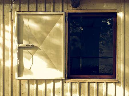 prefab: Vintage looking Prefabricated house prefab