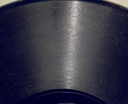 Vintage looking Detail of vintage 78 rpm music record