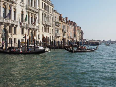 VENICE, ITALY - CIRCA SEPTEMBER 2016: The Canal Grande (meaning Grand Canal) Editorial
