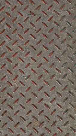 diamond background: Diamond steel plate useful as a background Stock Photo