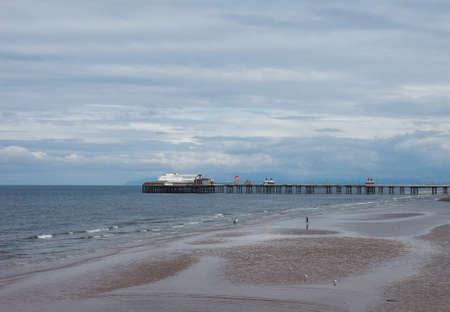 lancashire: Blackpool Pleasure Beach on the Fylde coast in Blackpool, Lancashire, UK