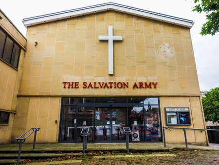 headquarters: BATH, UK - CIRCA SEPTEMBER 2016: HDR Bath Salvation Army headquarters