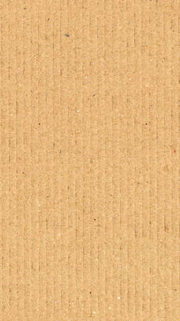 corrugated cardboard: Brown corrugated cardboard useful as a background - vertical Stock Photo