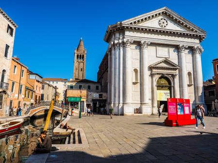 barnabas: VENICE, ITALY - CIRCA SEPTEMBER 2016: HDR Chiesa di San Barnaba (meaning St Barnabas church)