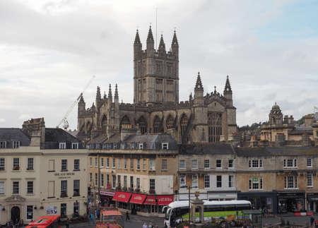 BATH, UK - CIRCA SEPTEMBER 2016: The Abbey Church of Saint Peter and Saint Paul (aka Bath Abbey)
