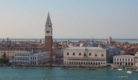 san marco: Piazza San Marco (meaning St Mark square) in Venice, Italy