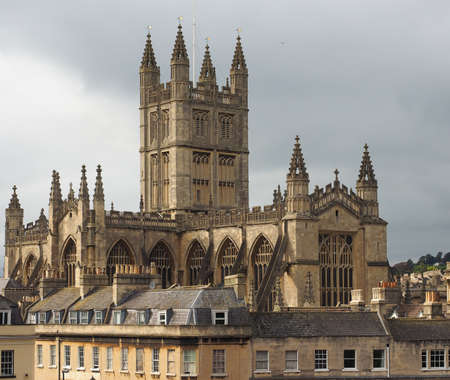 peter the great: The Abbey Church of Saint Peter and Saint Paul (aka Bath Abbey) in Bath, UK
