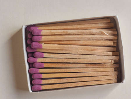 box of matches in a match box