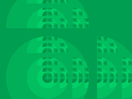 iterative: Spring_green abstract fractal illustration useful as a background
