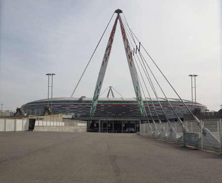 TURIN, ITALY - CIRCA MARCH 2017: Juventus Stadium (formerly known as Stadio delle Alpi, meaning Alps Stadium) Редакционное